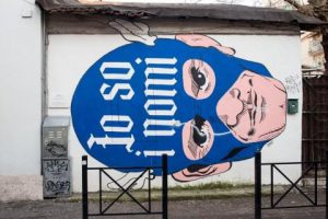 Omino 71, Io so i nomi, 2014 – via Fanfulla da Lodi, Roma